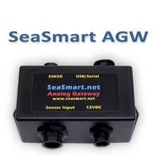 Analog Gateway marine networking NMEA 2000 network gauge switches instrumentation by chetco digital instruments